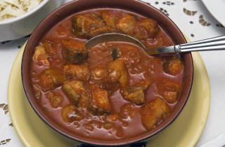 Croatia - Slavonia - Zupanja - restaurant Buffet Stagalj - fish gulash