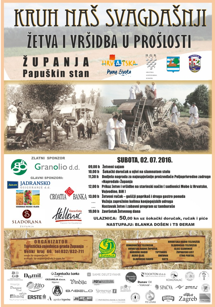 Program Žetva 2016. Županja