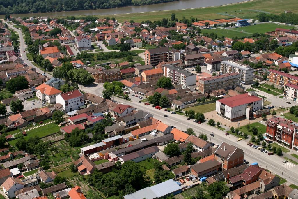 Zupanja - panorama